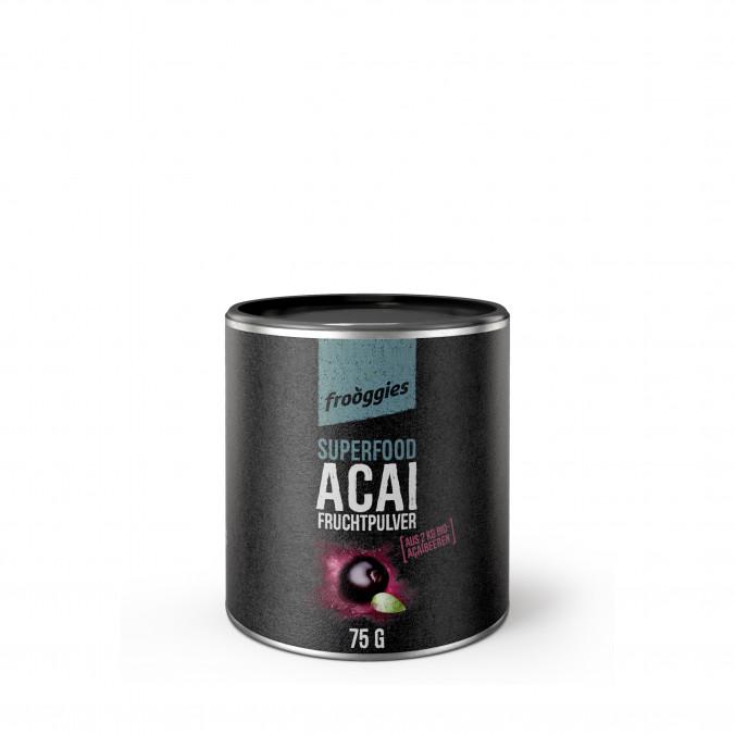 Acai, bio fruchtpulver