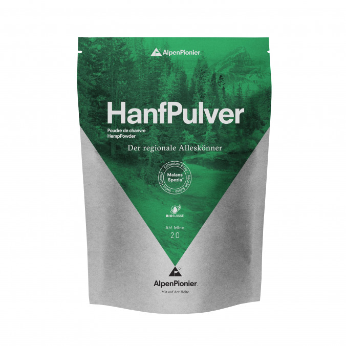 Organic Swiss Hemp Powder 400gr