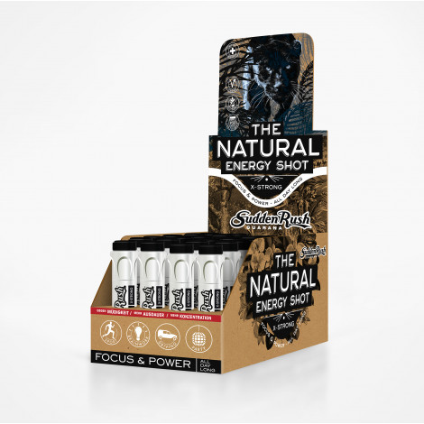 Natural Energy Shot, X-Strong